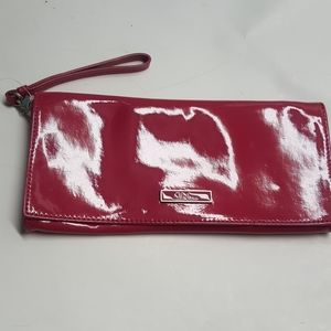 Cole Hann Hot Pink Patent Leather Clutch